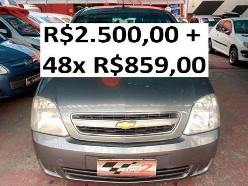 chevrolet meriva 1.4 maxx  - r$2.500 + 48x r$859,00