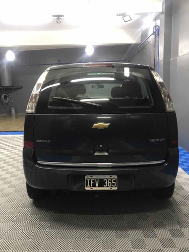 chevrolet meriva 1.8 gl plus 102 hp 2009
