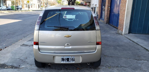 chevrolet meriva gls gnc 2012 excelente estado