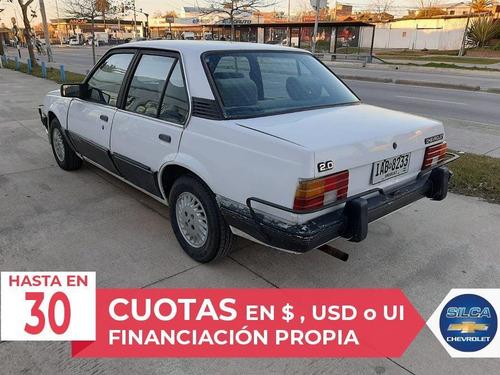 chevrolet monza classic 1989 blanco 4 puertas