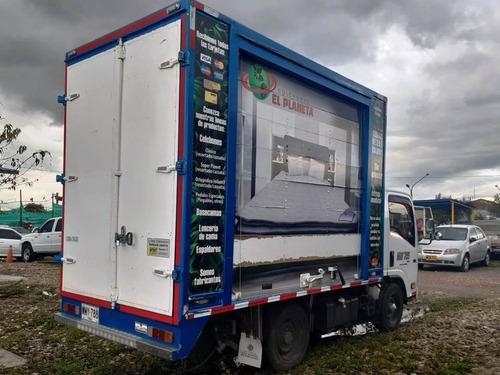 chevrolet nhr 2016 pública furgón carga seca