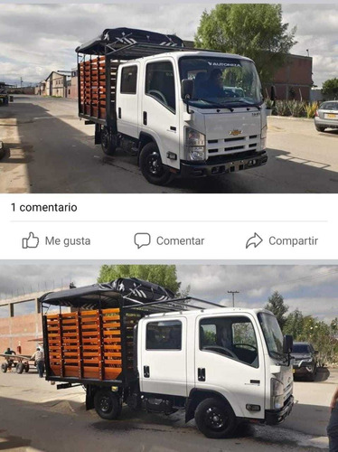 chevrolet nhr doble cabina