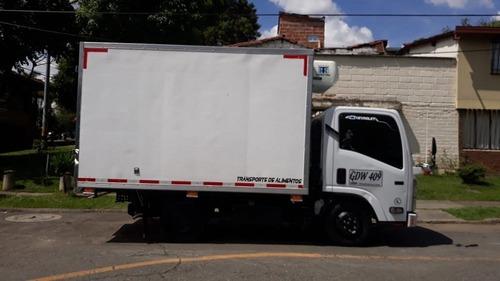 chevrolet nhr furgon 3000cc, 2020, mecánica, 4x2, diesel
