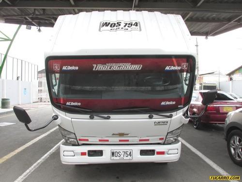 chevrolet npr camión furgón