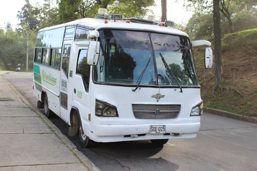 chevrolet npr modelo 2004 23 pasajeros