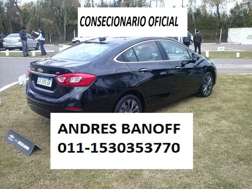 chevrolet nuevo cruze ltz at + (anticipo 0%, no plan) novab