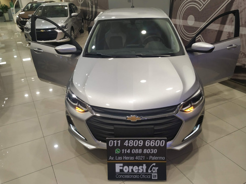 chevrolet onix 1.0 turbo premier ii at entrega ya plo9666