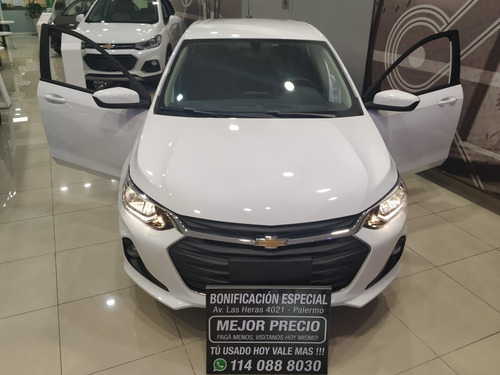 chevrolet onix 1.2 lt mt tech onstar wifi #p3