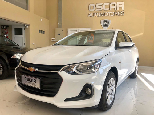 chevrolet onix 1.2 lt tech full okm a patentar color blanco