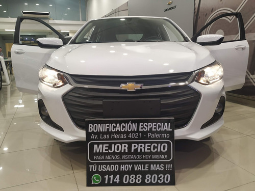 chevrolet onix 1.2 lt tech onstar financiacion gpat a9888556