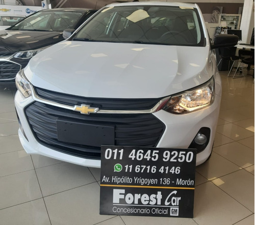 chevrolet onix 1.2 plus 2020 0km #7