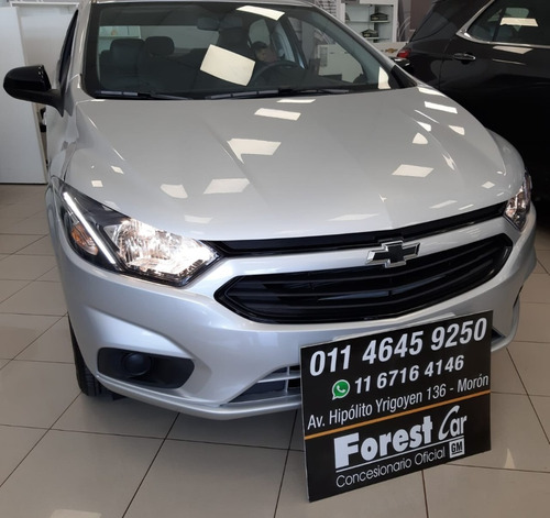 chevrolet onix 1.4 joy plus black 2020 0km #7