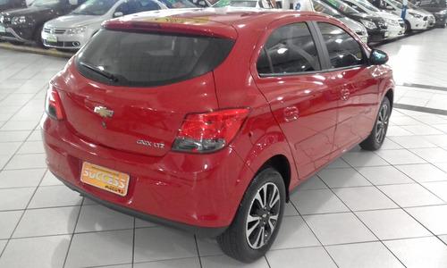 chevrolet onix 1.4 ltz 5p - vermelho - 2015