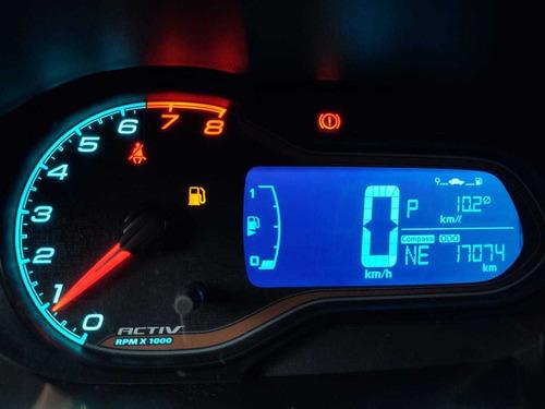 chevrolet onix activ 1.4  automático completo com baixa km