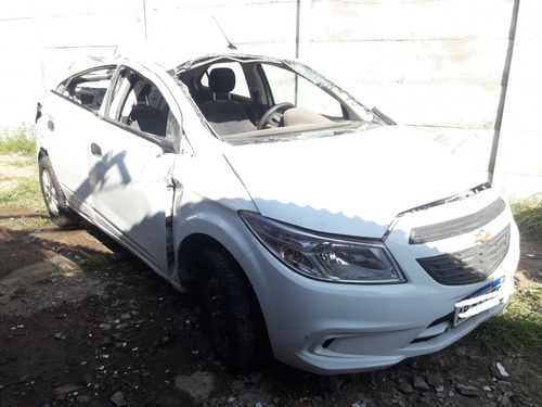 chevrolet onix joy 1.4 2017 chocado