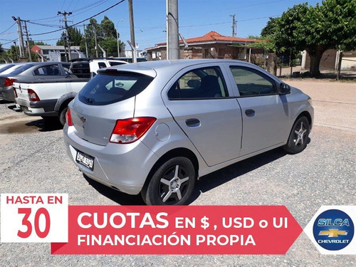 chevrolet onix joy 2017 gris plata 5 puertas