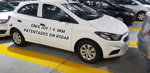 chevrolet onix joy patentado sin rodar 0km retira ya   #1