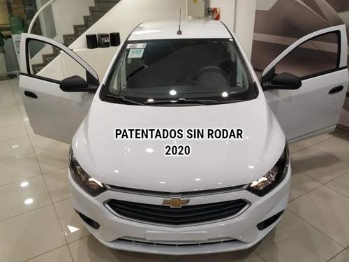 chevrolet onix joy plus patentados 0km 2020 retira ya   #1