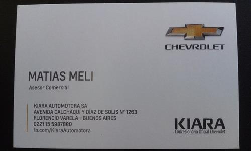 chevrolet onix ltz 1.4 98cv ( full) promo florencio varela!