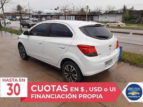 chevrolet onix ltz 2014 blanco 5 puertas