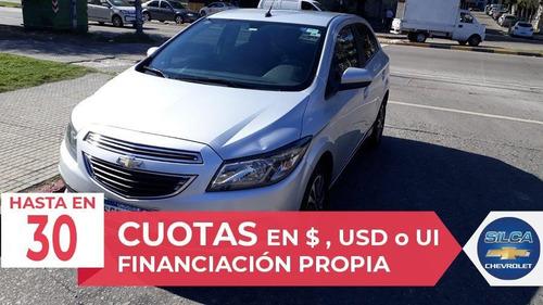 chevrolet onix ltz 2015 gris plata 5 puertas