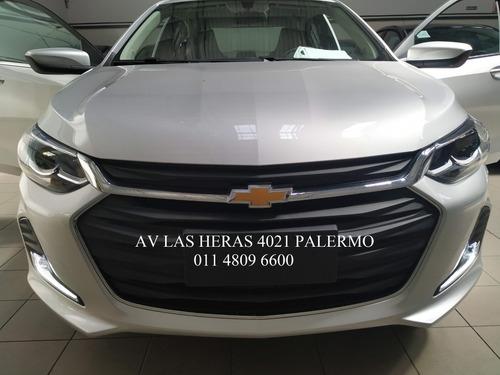 chevrolet onix plus 1.0  premier 4 puertas colegiales  #p3