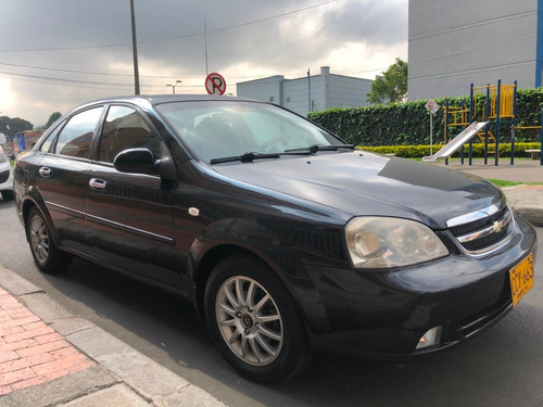 chevrolet optra limited 1.8 2007 negro sedán, full equipo