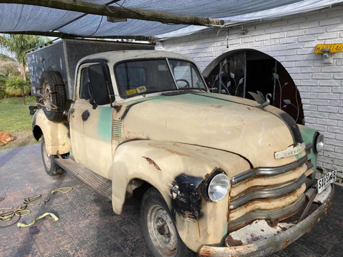 chevrolet pick up 1951