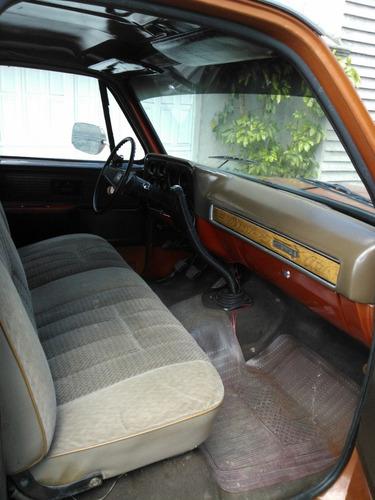 chevrolet pick-up 1977
