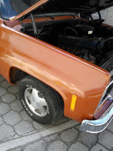 chevrolet pick-up 1977 cousttom de luxe