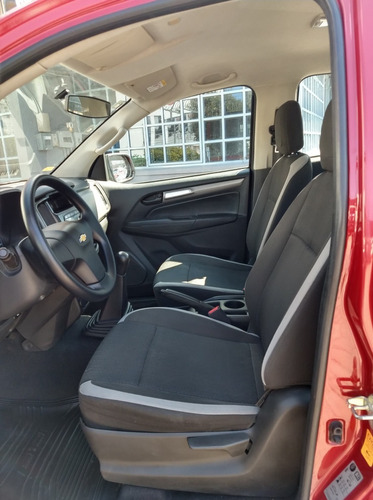 chevrolet, pick-up s10 ls doble cabina, tm 6, color rojo