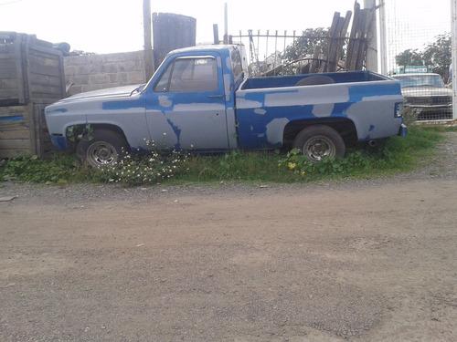 chevrolet pickup sierra classic 1981 8 cil completa y partes