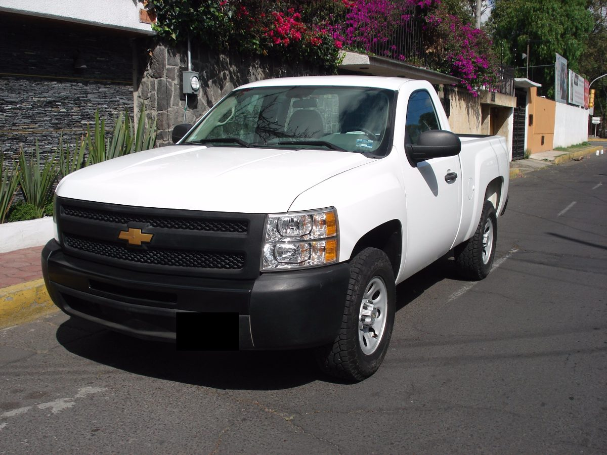 chevrolet pickup silverado 1500 modelo 2013 195 000 en mercado libre. Black Bedroom Furniture Sets. Home Design Ideas