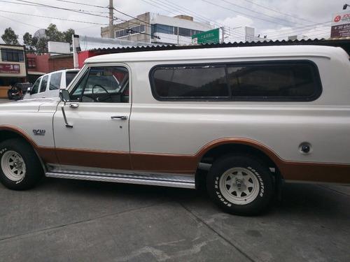 chevrolet pickup tipo panel 1972