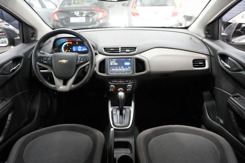 chevrolet prisma 1.4 lt automático 2016 cinza