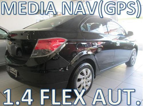 chevrolet prisma 1.4 lt flex automatico com media nav(gps)