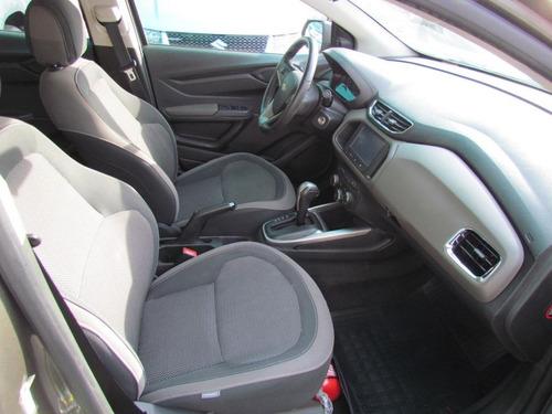chevrolet prisma 1.4 ltz aut. 2014 2015 cinza completo