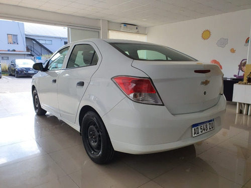 chevrolet prisma joy 4p 2019 blanco