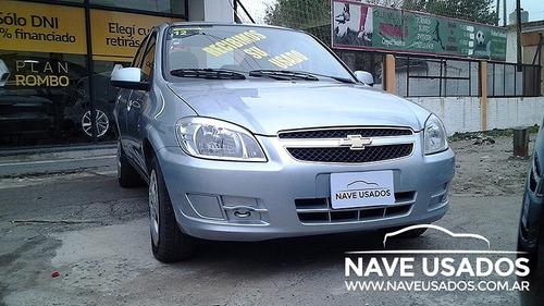 chevrolet prisma ls 2012 gris 5 puertas lvo