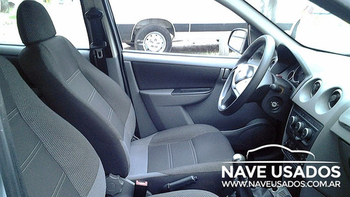 chevrolet prisma ls gnc 2012 gris 5 puertas lvo