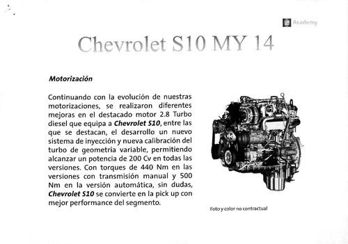 chevrolet s-10 doble cabina lt 4x4   #1