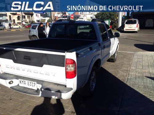chevrolet s10 2.4 advantage 2010 blanco 4 puertas