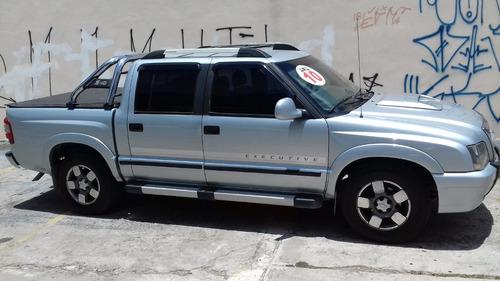 chevrolet s10 2.4 executive cab. dupla 2010 $ 42900 financia