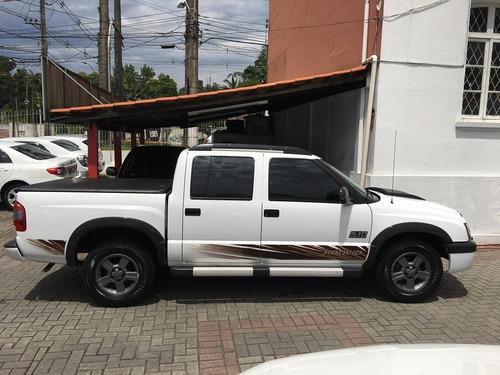 chevrolet s10 2.4 rodeio cab. dupla flexpower unico dono