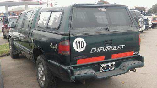 chevrolet s10 2.8 4x4 dc dlx