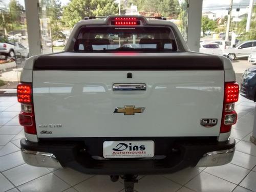 chevrolet s10 2.8 high country 4x4 cd 2016 branca diesel