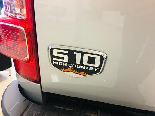 chevrolet s10 2.8 high country cd tdci 200cv manual 4x2 fd