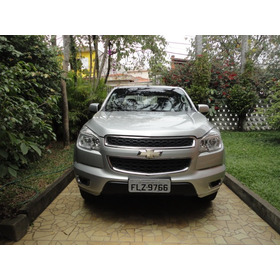 Chevrolet S10 2.8 Lt Cab. Dupla 4x4 Aut. 4p 2014 Prata Nova