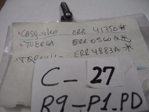 chevrolet s10 blazer tornillo regulador balancin original gm