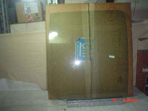 chevrolet s10 / blazer vidrio puerta trasera lado derecho gm